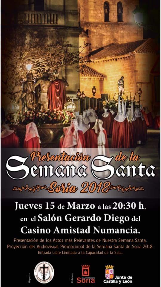 PRESENTACION OFICIAL DE LA SEMANA SANTA 2018