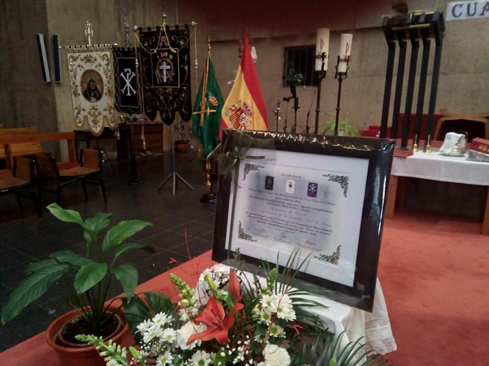 NOMBRAMIENTO DE HERMANOS DE HONOR A LA COMANDANCIA DE LA GUARDIA CIVIL DE SORIA