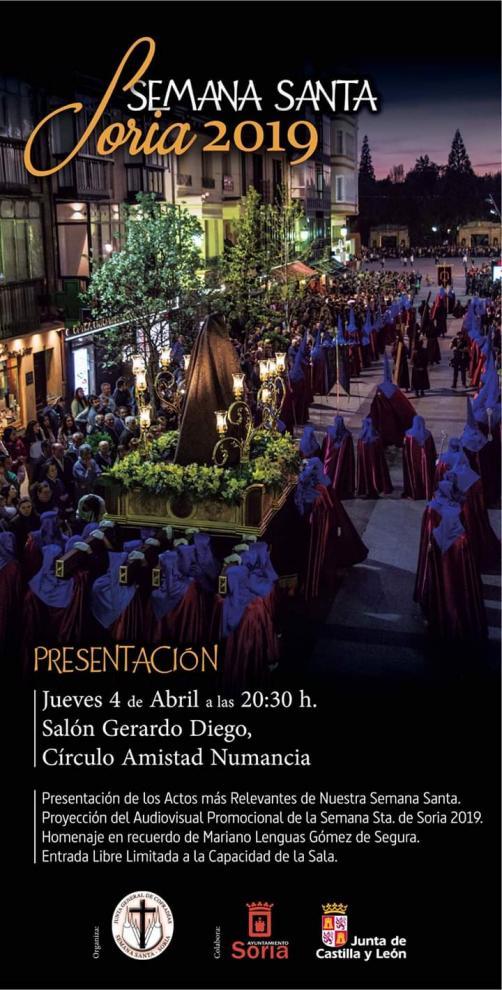 PRESENTACION DE LA SEMANA SANTA 2019